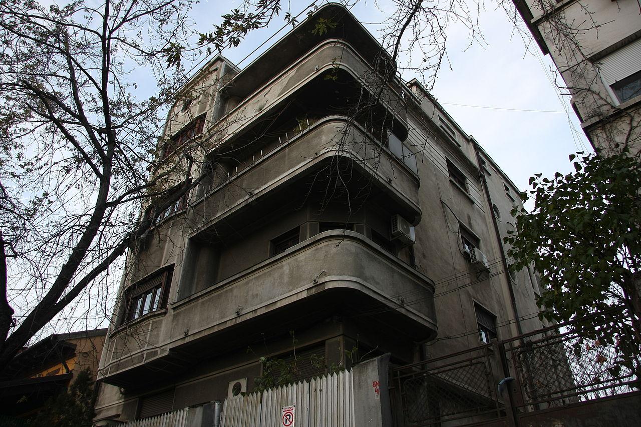 La casa di Eliade a Bucarest (1934-1940